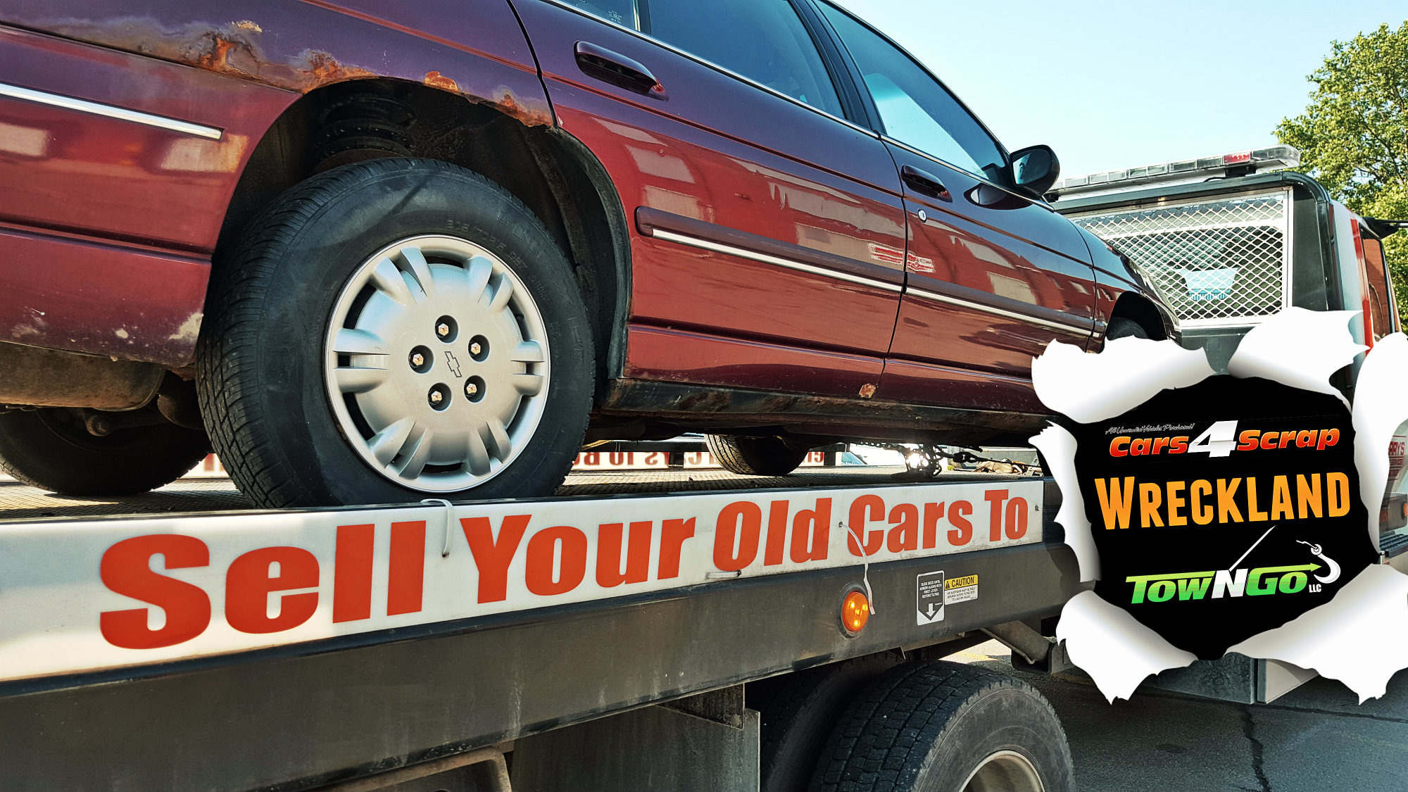 car wreckers removal Auckland